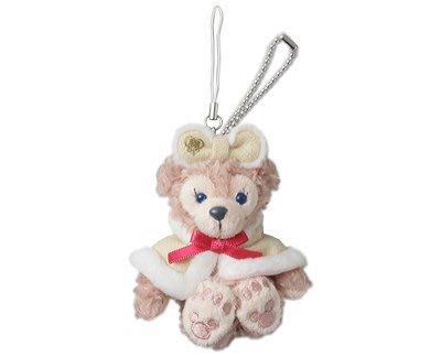 尼德斯Nydus~* 東京迪士尼海洋限定 達菲熊 雪莉梅 雪莉玫 ShellieMay 聖誕節限定 吊飾 約10cm