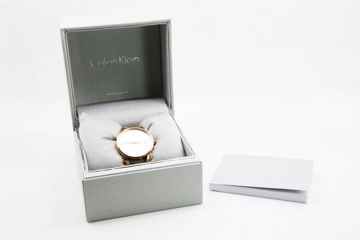 【高雄青蘋果3C】CK Calvin Klein Stately 時尚鏤空手環錶玫瑰金 K3G23626 #10222