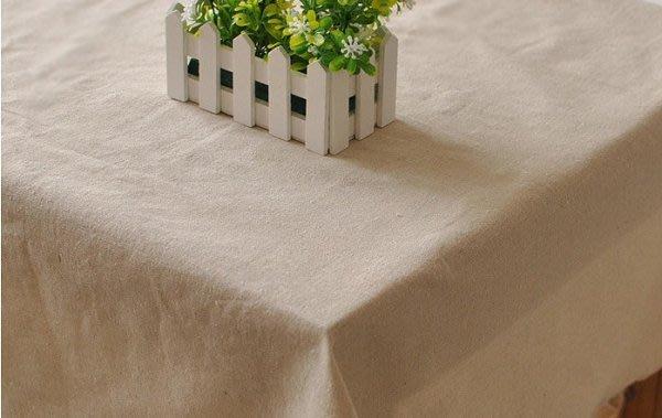 【#015 簡約素麻】多種尺寸的桌巾♥簡樸無印風桌布♥圓桌巾♥方桌巾 拍照背景 道具simple♥90*90cm♥