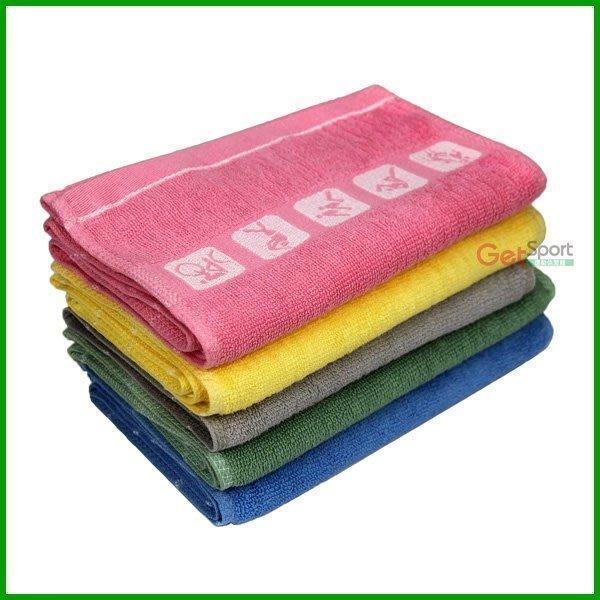純棉運動毛巾(長版)(運動長巾/加長型/吸汗/吸水/運動巾/擦汗巾/台灣製造)