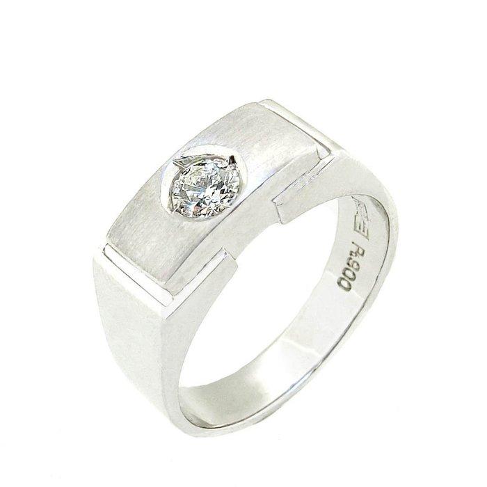 【JHT 金宏總珠寶/GIA鑽石專賣】0.32ct天然鑽石戒指/材質:PT900(D000247)