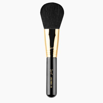【愛來客】☆美國Sigma經銷商☆ Sigma F20 Large Powder Gold(金環)蜜粉刷 修容刷 化妝刷