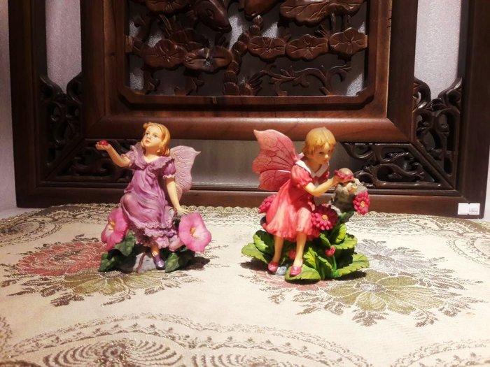 居家藝術-婚禮設計~櫥窗佈置~造景小天使.花仙子..翅膀花仙子.擺飾..小精靈..