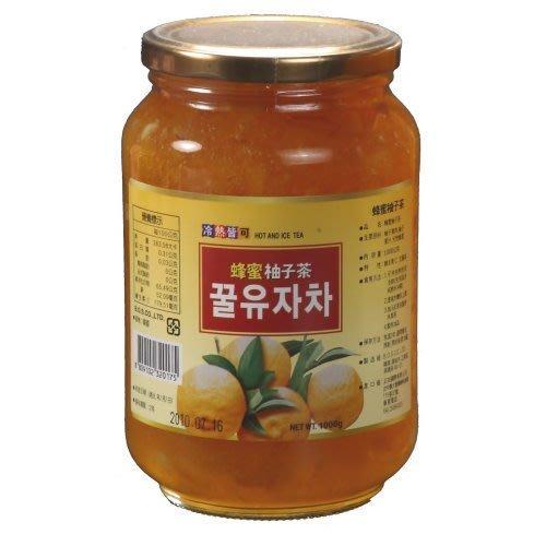 高麗購◎正友韓國蜂蜜柚子茶1公斤1箱12瓶2400元◎/平均每瓶只要200元