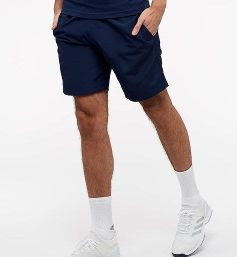 【吉米.tw】adidas 運動休閒 健身 愛迪達 透氣排汗 男款 運動短褲 藍色CE1432 白CE1433 JULa