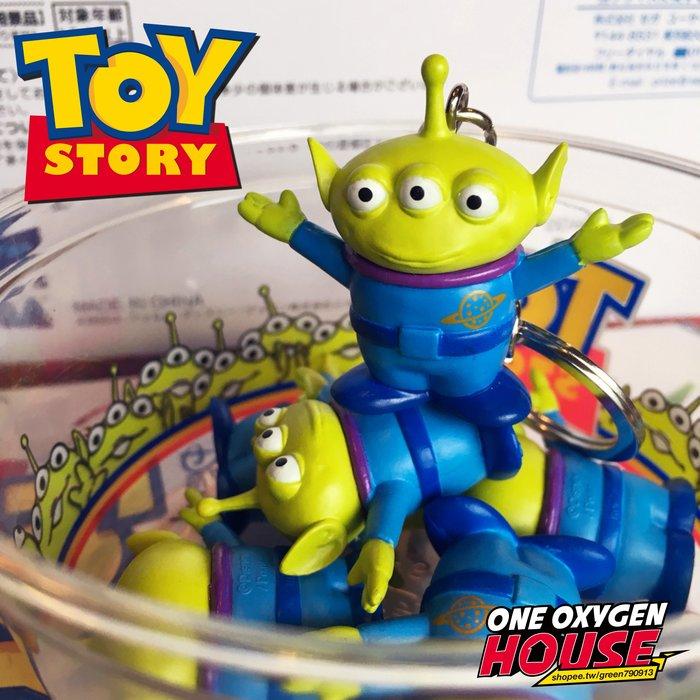 Disney 迪士尼 玩具總動員 三眼怪 可動  鑰匙圈 擺件 公仔 玩具 扭蛋 Toy Story