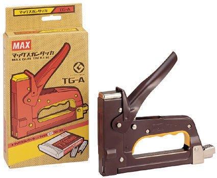 【廣盛文具】 MAX TG-A 美克司槍型釘書機 強力訂書機 釘槍 木工機 木工用釘書機