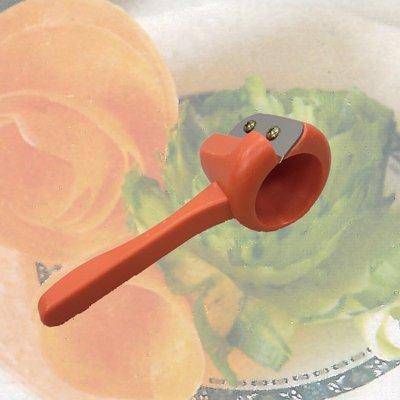 派樂 旋轉式刨花器 捲花器/刨刀器 (1入) 總鋪師法寶 擺盤雕花器 刻花器 蔬果造型雕刻刀 料理刀 主廚最愛旋轉捲花器