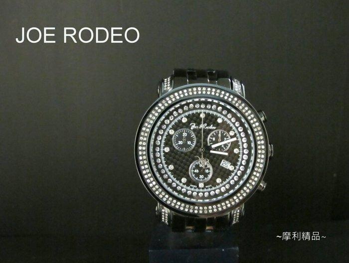 【摩利精品】JOE RODEO 真鑽計時錶 (美國嘻哈珠寶知名品牌) *真品* 低價特賣