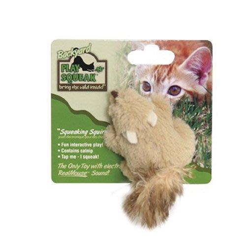 *WANG*PLAY-N-SQUEAK 狂野森林【貓草音效玩具系列-田野動物】多種逼真可愛的田野動物造型