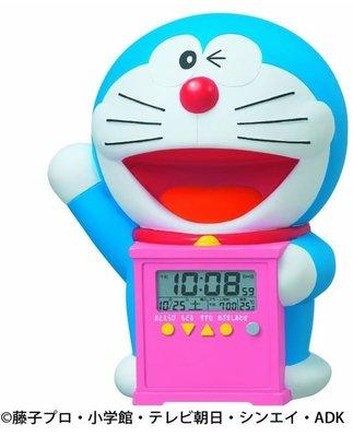 鼎飛臻坊 DORAEMON 哆啦A夢 小叮噹 貪睡功能 電子 時鐘 桌鐘 鬧鐘 日本正版