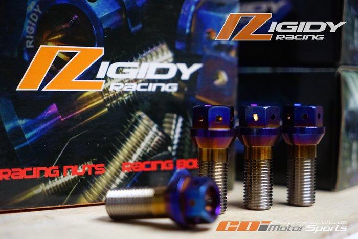 RIGIDY ㊣ 64鈦合金螺絲 鈦螺絲 鈦螺栓 鈦燒色 鋁圈質感加分 各規格歡迎詢問  / 制動改