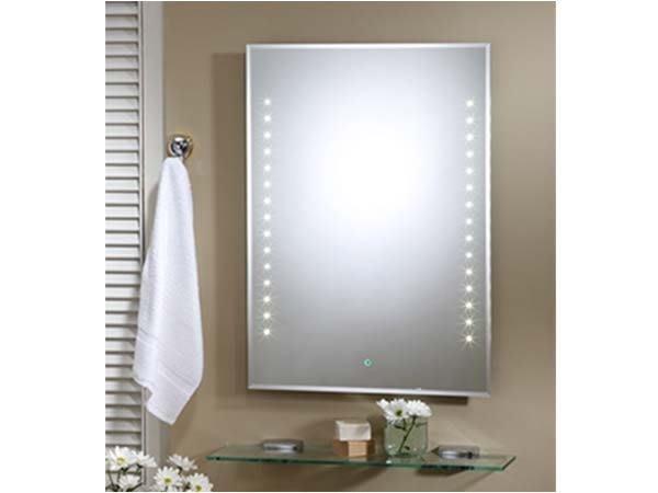 浴室化妝鏡-LED光學觸控系列.防蝕明鏡 HM-205 LED衛浴化妝鏡 LED明鏡 照明用浴室鏡