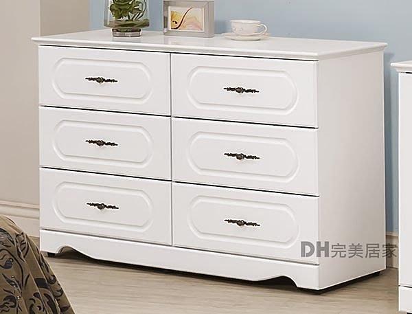 【DH】商品貨號HA-A010商品名稱《黛尼》3.5尺六斗櫃。優質素材。細膩亮麗經典設計。主要地區免運費