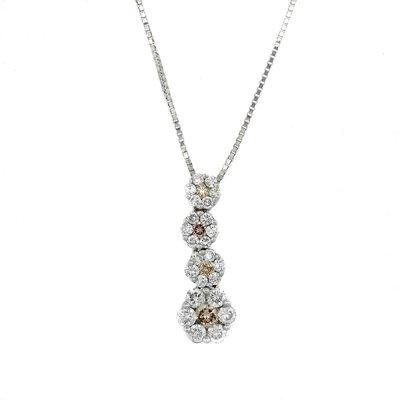 【JHT金宏總珠寶/GIA鑽石專賣】2.00ct天然鑽石造型項鍊/材質:18K(JB43-A42)
