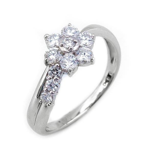 【JHT 金宏總珠寶/GIA鑽石專賣】0.50ct天然鑽石造型戒指/材質:PT900(JB20-A17)