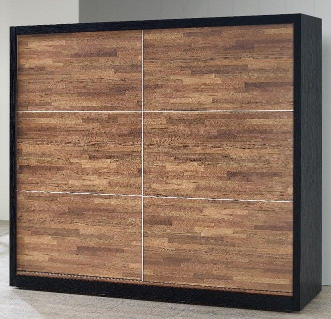 【DH】貨號BC04-1名稱《森爾威》7尺推門衣櫃(圖一)內附鏡.備有5尺可選.台灣製可訂做.主要地區免運費