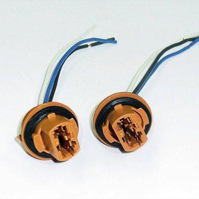 【PA LED】T20 大炸彈 7443 雙芯 三線 煞車燈 方向燈 燈座 加粗線組 16AWG 防水