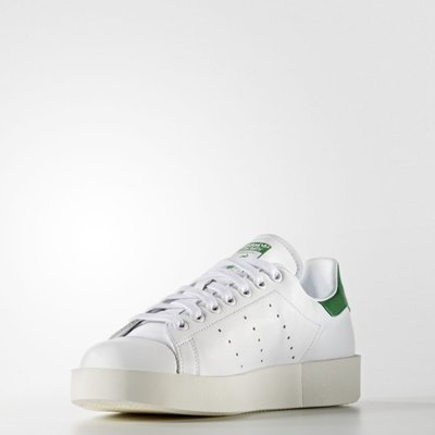# ADIDAS STAN SMITH BOLD W 白綠 厚底 增高鞋 奶油底 女鞋 日韓 S32266 YTS