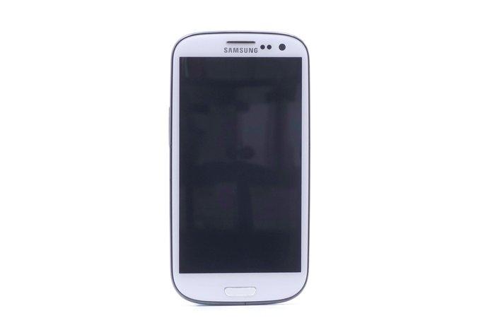 【台中競標】Samsung Galaxy S3 i9300 白 16G 無底價競標 標多少賣多少 料機出售 #16730