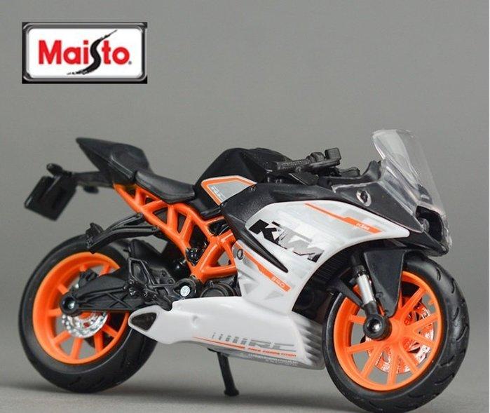 阿莎力 1:18 1/18 KTM RC390 美馳圖 Maisto 摩托車 重機 機車 仿賽