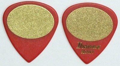 大鼻子樂器 公司貨 Ibanez 雙面止滑 PICK 黑字 現貨 紅色