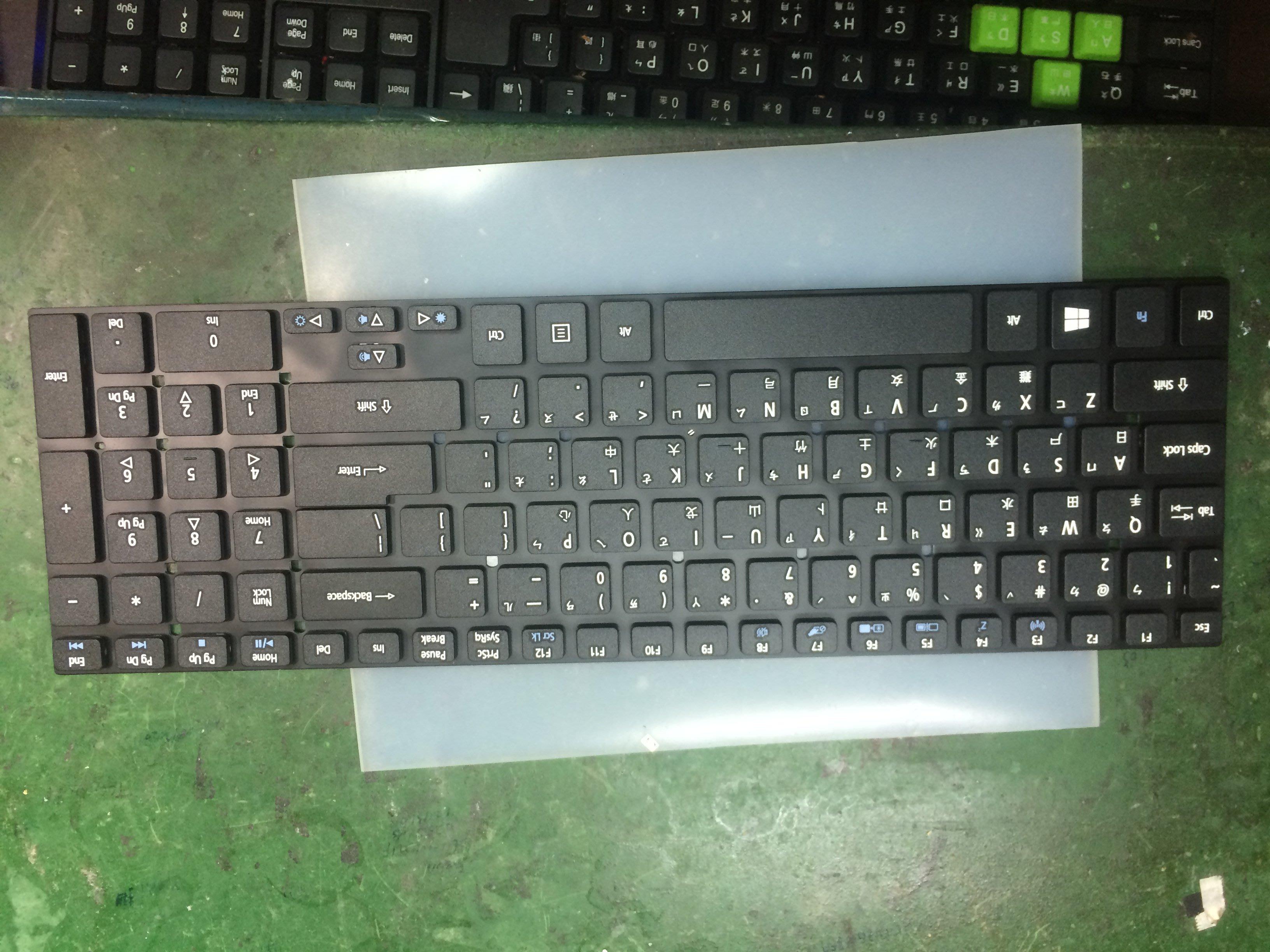 ACER宏碁 Aspire AS V3-571G V3-731 V3- V3-771 5830 繁體中文鍵盤