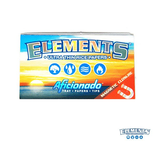 GOODFORIT / 西班牙Elements Aficionado極薄米質菸紙1 1/4全能組/50入