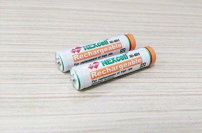 ✿國際電通✿【一顆$38】NEXcell 台灣耐能 4號鎳氫超高容量充電電池 / 電容量1000mAh / 台灣製