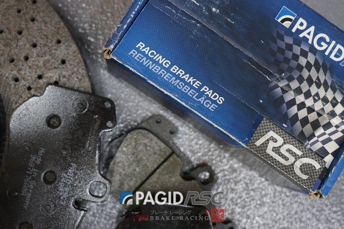 PAGID RACING FRICTION COMPOUNDS 碳纖維、陶瓷碟盤專用來令片 歡迎詢問 / 制動改