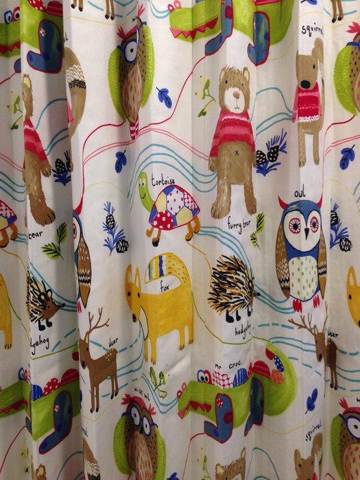 【窗的世界家飾館】20年專業製作達人,雅式多系列窗簾 可愛小熊貓頭鷹,達人專業丈量與安裝