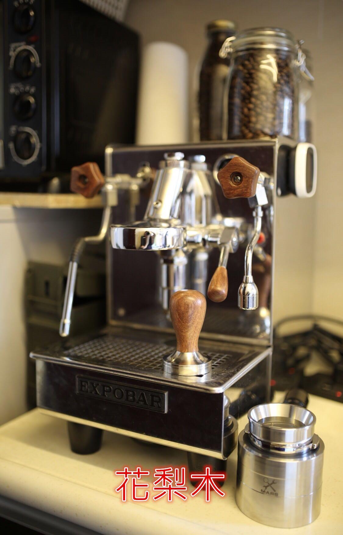 ※貝勒拉芙※ EXPOBAR、WPM KD-310 半自動 咖啡機  改裝 木製 ( 蒸氣旋鈕、熱水旋鈕、拉桿)需預購
