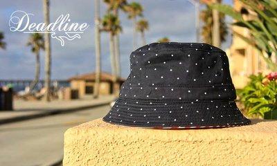 GOODFORIT / 美國品牌DEADLINE Stars & Stripes Bucket漁夫帽款/美國旗幟主題