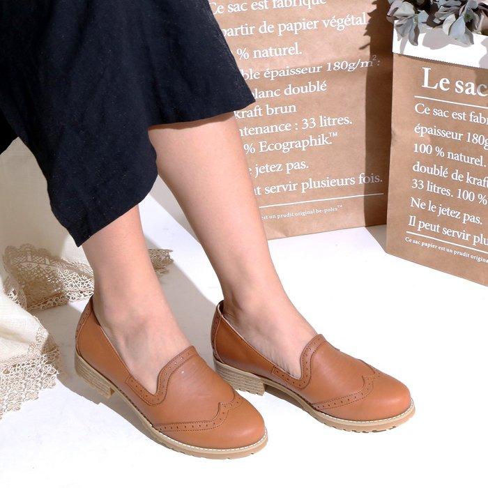 1714 早秋新品 樂福鞋 簡約英倫牛津樂福鞋 好穿氣墊底 牛津鞋 MIT台灣手工鞋 丹妮鞋屋
