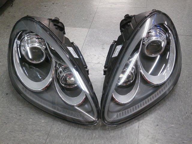 Porsche HID 大燈總成 Porsche Cayenne 958 大燈總成 Porsche 正廠零件
