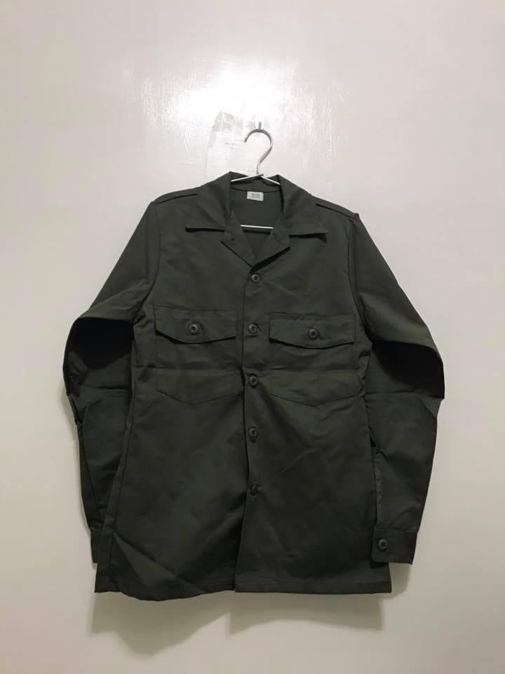 DEADSTOCK 美軍公發OG-507 OD色軍裝上衣 製作年份1987年