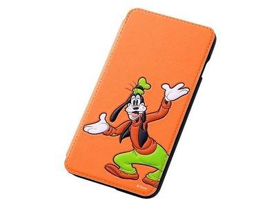 尼德斯Nydus~* 日本正版 Disney 迪士尼 高飛狗 翻頁式 手機殼 iphone6+ plus 5.5吋