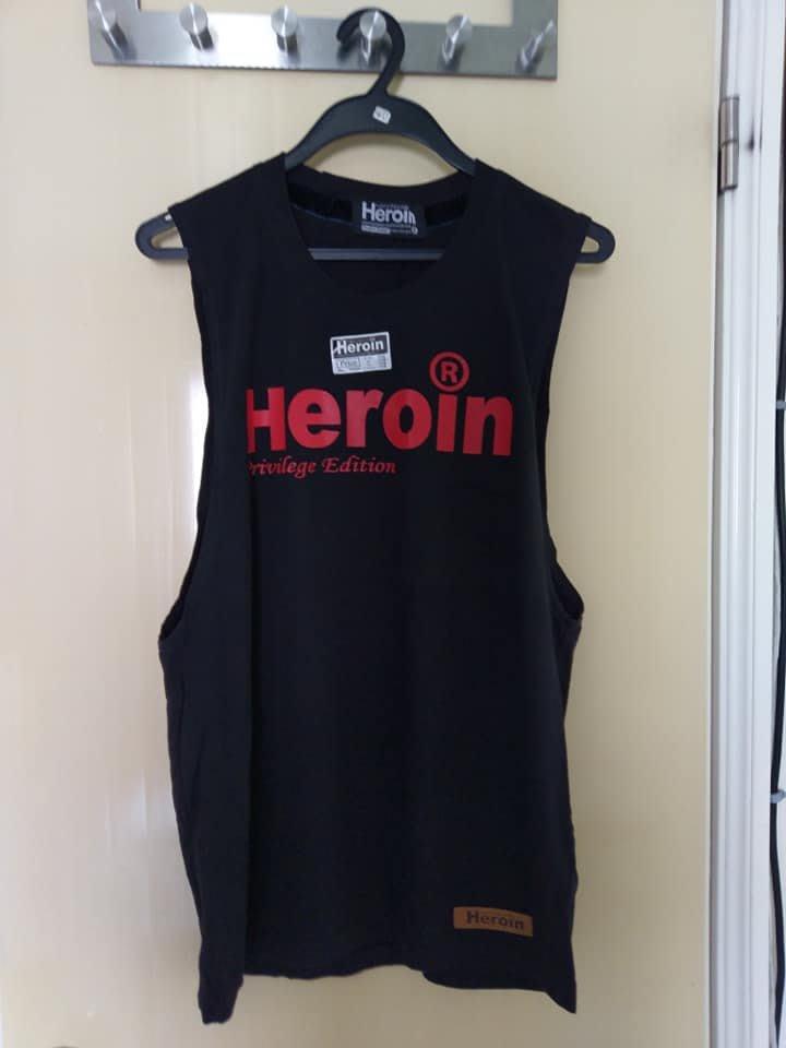 heroin 背心  泰國