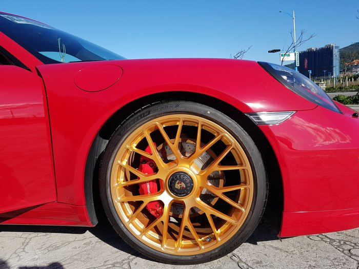 PORSCHE 718 GTS 專用  單孔螺絲(套件組) 單孔鋁圈 升級套件 GTS單孔螺絲 (讓您的車變成單孔鋁圈)