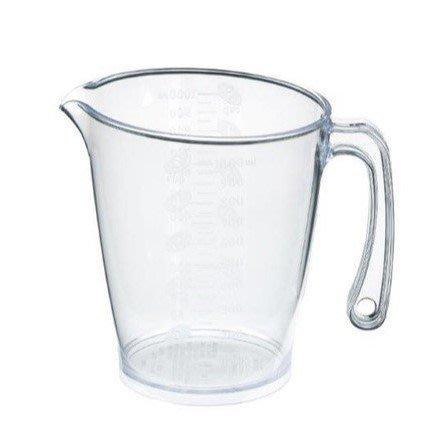 一鑫餐具【日本製 inomata 量杯 1L CUP 1000ml No.1110】麵粉量杯砂糖量杯塑膠量杯烘培器具