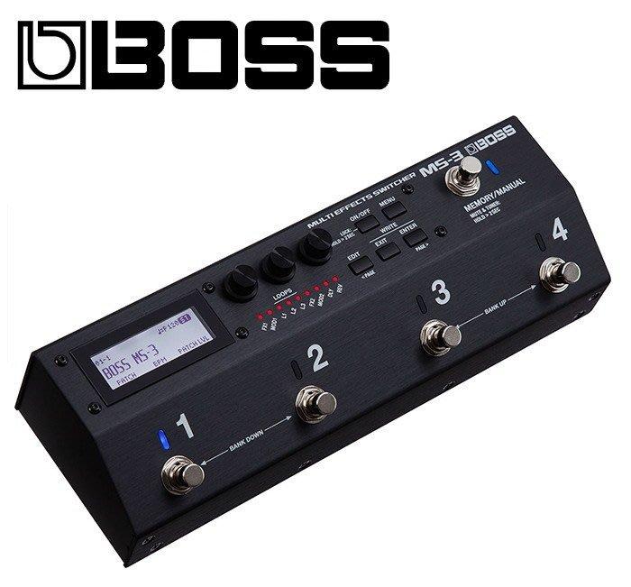 ☆ 唐尼樂器︵☆原廠公司貨 Boss MS-3 Looper Switcher 單顆迴路選擇器  迴路 記憶 切換踏板