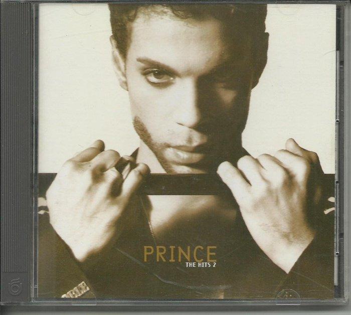PRINCE/王子 THE HITS 2 CD_飛碟唱片,含中譯歌詞