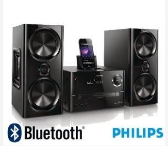 福利品 PHILIPS飛利浦 iPhone5藍牙微型音響DTD3190 取代 btm2360