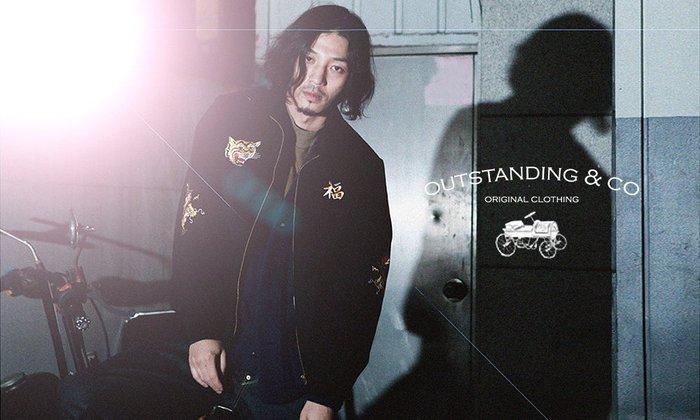 GOODFORIT / 韓國Outstanding VIETNAM SOUVENIR JACKET虎首刺繡越戰夾克