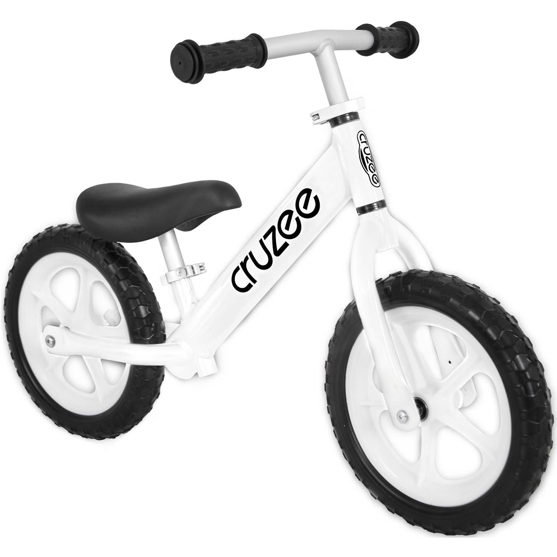 (CRUZEE) 超輕量鋁合金平衡滑步車 Push Bike 白色 (限量色)