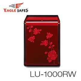 【皓翔居家安全館】Eagle Safes 韓國防火金庫 保險箱 (LU-1000RW)(酒紅玫瑰)