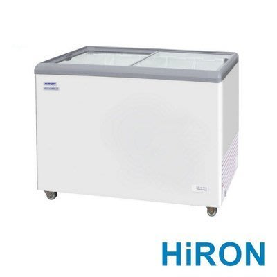 #全省服務 HiRON海容 3尺7 350公升 玻璃推拉冷凍櫃 HSD-358