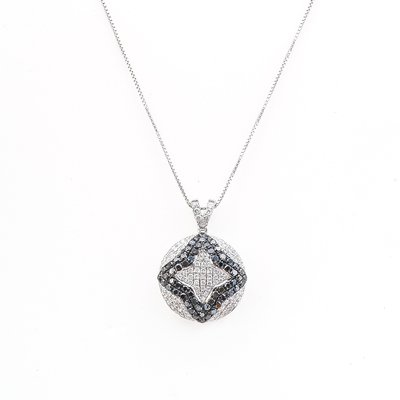 【JHT金宏總珠寶/GIA鑽石專賣】0.90ct天然鑽石項鍊/材質:18K(D000098)