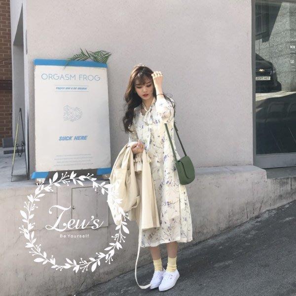 【ZEU'S】夏日新款甜美碎花洋裝『 03318612 』【現+預】CC