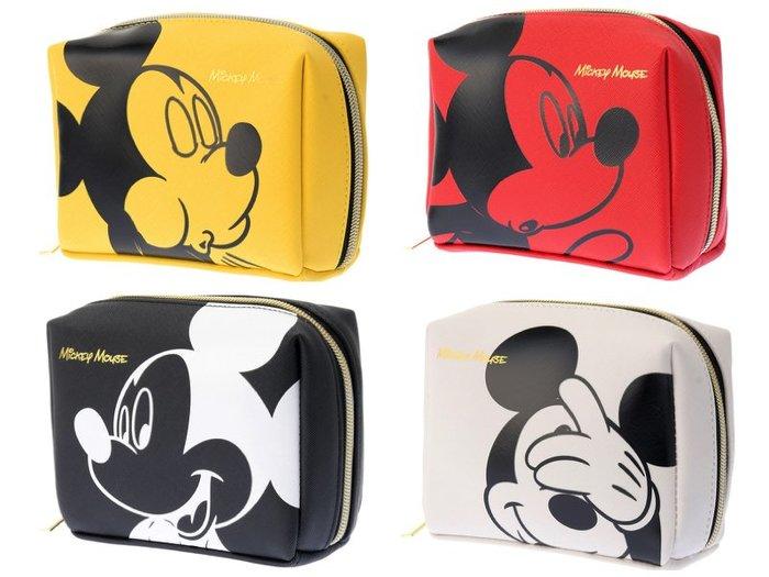 日本 迪士尼 米奇 小化妝包 雜物 收納 隨身包